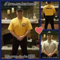My husband on his first day of Academy! Jan 2017